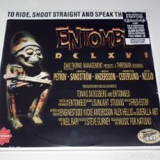 Discos de vinilo: LP ENTOMBED - DCLXVI TO RIDE, SHOOT STRAIGHT AND SPEAK THE TRUTH. Lote 56890109