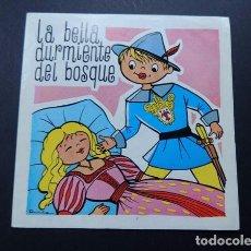 Discos de vinilo: LA BELLA DURMIENTE DEL BOSQUE / DISCO BABY - DAFSA 1965. Lote 85474408