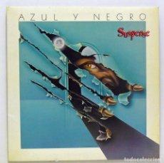 Discos de vinilo: AZUL Y NEGRO - 'SUSPENSE' (LP VINILO. ORIGINAL 1984) - PEDIDO MÍNIMO 8€. Lote 85481136