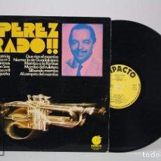 Discos de vinilo: DISCO LP DE VINILO - ¡¡PEREZ PRADO!!. PATRICIA / MAMBO Nº 5 - IMPACTO / EDICIONES SONORAS, 1974. Lote 85486388