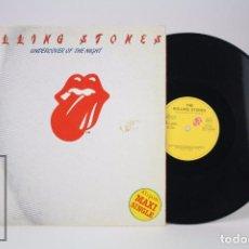 Discos de vinilo: DISCO MAXI SINGLE DE VINILO - ROLLING STONES. UNDERCOVER OF THE NIGHT - EMI-ODEON, 1983. Lote 85487036