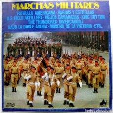 Discos de vinilo: BANDA MILITAR (DIR. GERHARD SCHOLZ) - MARCHAS MILITARES - LP NEVADA / DIAL DISCOS 1977 BPY. Lote 85494300