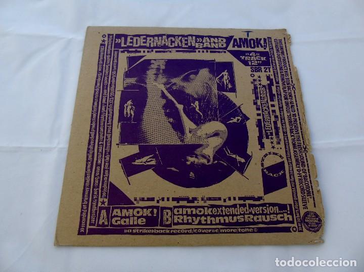 LEDERNACKEN AND BAND SBR 2T (Música - Discos de Vinilo - Maxi Singles - Pop - Rock - New Wave Internacional de los 80)