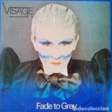Discos de vinilo: VISAGE - FADE TO GREY -MAXI SINGLE - IMPORTACION. Lote 85511556