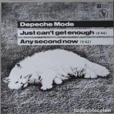 Discos de vinilo: DEPECHE MODE - JUST CAN'T GET ENOUGH - MAXI SINGLE . Lote 85522852