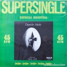 Discos de vinilo: DEPECHE MODE - NEW LIFE - MAXI SINGLE. Lote 85526564