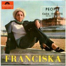 Discos de vinilo: FRANCISKA – PEOPLE - EP SPAIN 1965 - POLYDOR 261 FEP. Lote 85538048