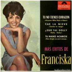 Discos de vinilo: FRANCISKA – MÁS ÉXITOS DE FRANCISKA - EP SPAIN 1964 - 248 FEP. Lote 85539164