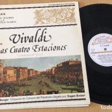 Discos de vinilo: VIVALDI - LAS CUATRO ESTACIONES - EUGEN BODART- SARPE-Nº 5 MUSICA CLASICA - LP VINYL 1980. Lote 85546892