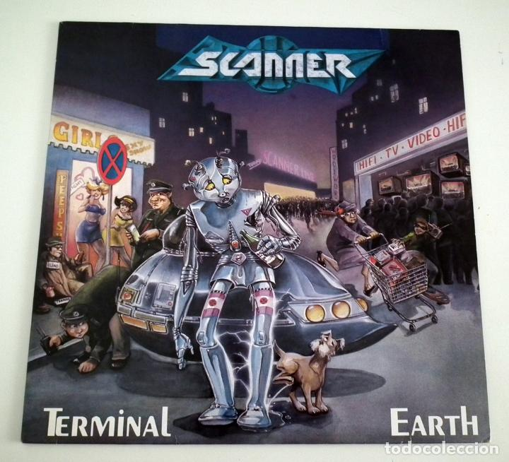 LP SCANNER - TERMINAL EARTH (Música - Discos - LP Vinilo - Heavy - Metal)