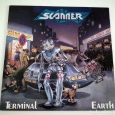 Discos de vinilo: LP SCANNER - TERMINAL EARTH. Lote 48781867