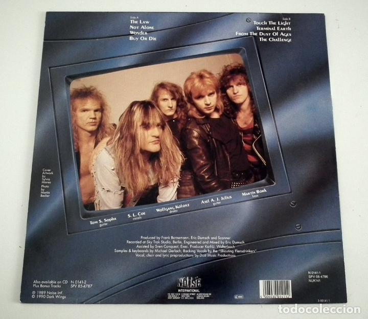 Discos de vinilo: LP SCANNER - TERMINAL EARTH - Foto 2 - 48781867