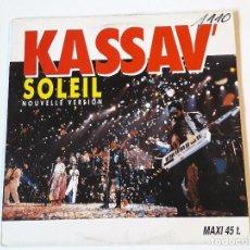 Discos de vinilo: KASSAV' - SOLEIL (NOUVELLE VERSION) - 1988. Lote 85561720