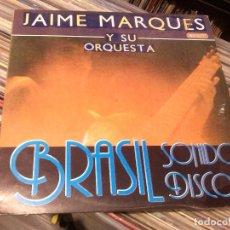 Discos de vinilo: JAIME MARQUES Y SU ORQUESTA* – BRASIL SONIDO DISCO -- LP 1988. Lote 85561800