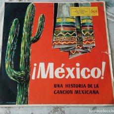 Discos de vinilo: ¡MEXICO!: LA TORCACITA, LIBERTAD LAMARQUE, AMALIA MENDOZA, PEDRO VARGAS...(RCA 1961). Lote 85585444
