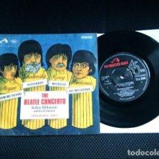 Discos de vinilo: BEATLES CONCERTO SINGLE EP ORIGINAL 1966 MUSICA CLASICA HIS MASTERS VOICE ENGLAND. Lote 85599300
