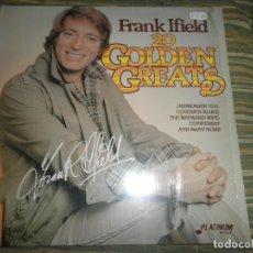 Discos de vinilo: FRANK IFIELD - 20 GOLDEN GREATS LP - EDICION ALEMANA - PLATINUM 1986 - MUY NUEVO (5). Lote 85600964