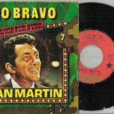 Discos de vinilo: DEAN MARTIN SINGLE RIO BRAVO B.S.O. FRANCIA 1977. Lote 85622848