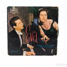 Discos de vinilo: LP. ORQUESTA DE CÁMARA DE MADRID, DIRIGE ENRIQUE ESTELA. EVA. (G+/P). Lote 85638020