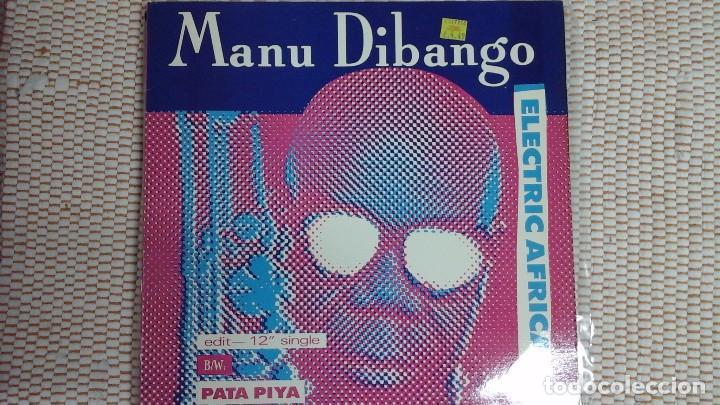 MANU DIBANGO .ELECTRIC ÁFRICA. MÁXI SINGLE USA 33 RPM (Música - Discos de Vinilo - Maxi Singles - Étnicas y Músicas del Mundo)