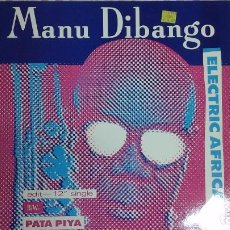 Discos de vinilo: MANU DIBANGO .ELECTRIC ÁFRICA. MÁXI SINGLE USA 33 RPM. Lote 85641904
