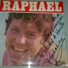 Discos de vinilo: LP RAPHAEL 1968. B.S DE LA PELICULA EL GOLFO. CON DEDICATORIA DEL CANTANTE EN LA PORTADA. Lote 85659992