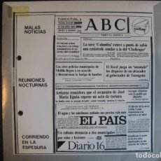 Discos de vinil: MALAS NOTICIAS EP MELODIAS DE AYER Y HOY 1986 REUNIONES NOCTURNAS +3 JOE BORSANI MOVIDA POP . Lote 85679832