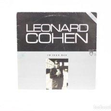 Discos de vinilo: LP. I'M YOUR MAN. LEONARD COHEN. (VG/VG). Lote 85733708