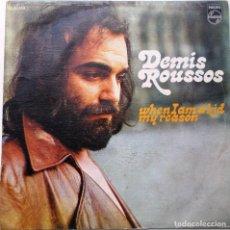 Discos de vinilo: DISCO DE VINILO DE DEMIS ROUSSOS ''WHAN IAM A KID'' DEL AÑOS 1972 VINILO DE 24 CANCIONES SINGLE. Lote 85744536