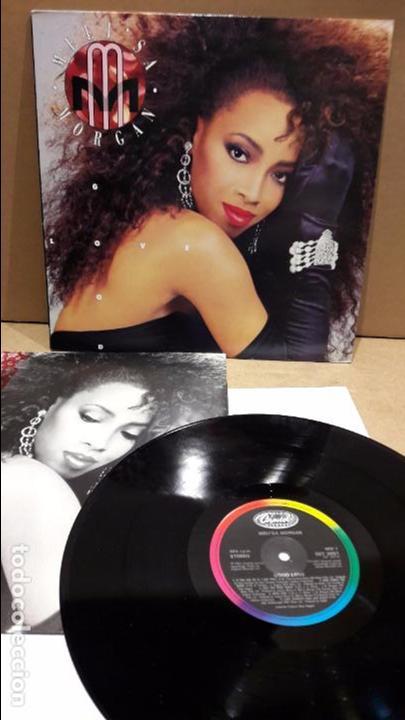 MELI'SA MORGAN. GOOD LOVE. LP / CAPITOL RECORDS - 1987 / MBC. ***/*** PEQUEÑAS MARCAS. (Música - Discos - LP Vinilo - Funk, Soul y Black Music)