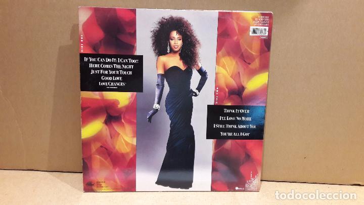 Discos de vinilo: MELI'SA MORGAN. GOOD LOVE. LP / CAPITOL RECORDS - 1987 / MBC. ***/*** PEQUEÑAS MARCAS. - Foto 2 - 85747960