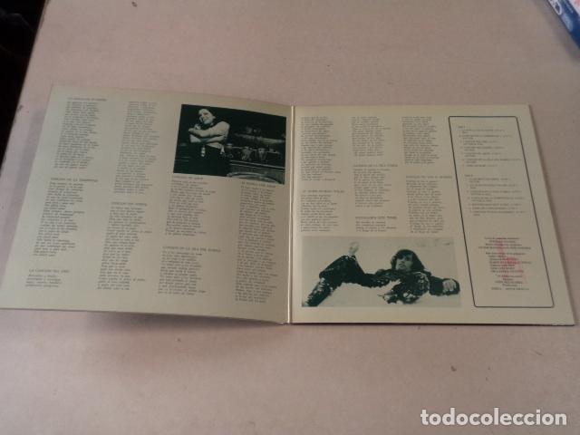 Discos de vinilo: LP AL DIABLO, CON AMOR - VICTOR MANUEL Y ANA BELÉN - Foto 2 - 85750664