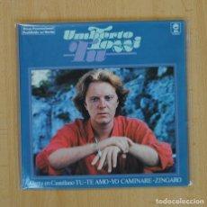 Discos de vinil: UMBERTO TOZZI - TU + 3 - EP. Lote 85752543