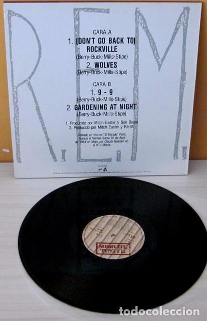 Discos de vinilo: R.E.M. - (DON´T GO BACK TO) ROCKVILLE ILLEGAL - 1984 - Foto 2 - 75615535