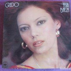 Discos de vinilo: LP - ELSA BAEZA - CREDO (SPAIN, CBS 1977). Lote 85753184