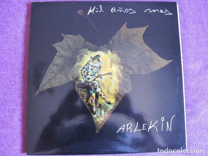 MAXI - ARLEKIN - MIL AÑOS MAS/VENTE CONMIGO/VAMOS A BAILAR/TOCAME (SPAIN, GAMO RECORDS 1990) (Música - Discos de Vinilo - Maxi Singles - Grupos Españoles de los 90 a la actualidad)