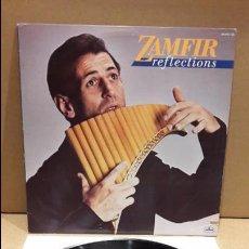 Discos de vinilo: GHEORGHE ZAMFIR. REFLECTIONS. LP / MERCURY - 1986 / MBC. ***/***. Lote 85758172