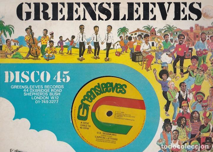 MAXI SINGLE GREENSLEEVES. EDICIÓN INGLESA 1979. PROBADO Y EN BUEN ESTADO (Música - Discos de Vinilo - Maxi Singles - Reggae - Ska)