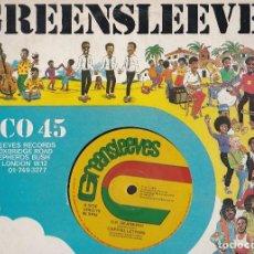 Discos de vinilo: MAXI SINGLE GREENSLEEVES. EDICIÓN INGLESA 1979. PROBADO Y EN BUEN ESTADO. Lote 85761648