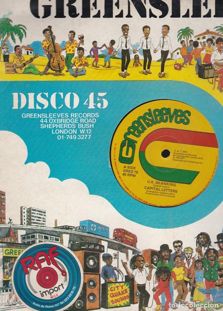 Discos de vinilo: maxi single greensleeves. edición inglesa 1979. probado y en buen estado - Foto 2 - 85761648