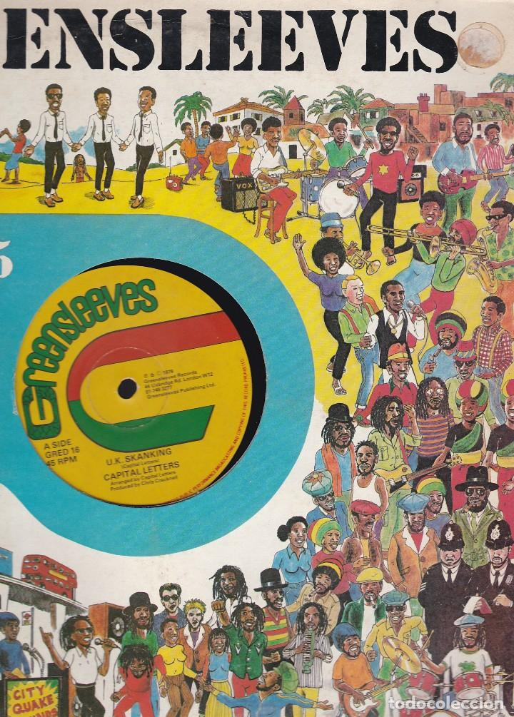 Discos de vinilo: maxi single greensleeves. edición inglesa 1979. probado y en buen estado - Foto 3 - 85761648