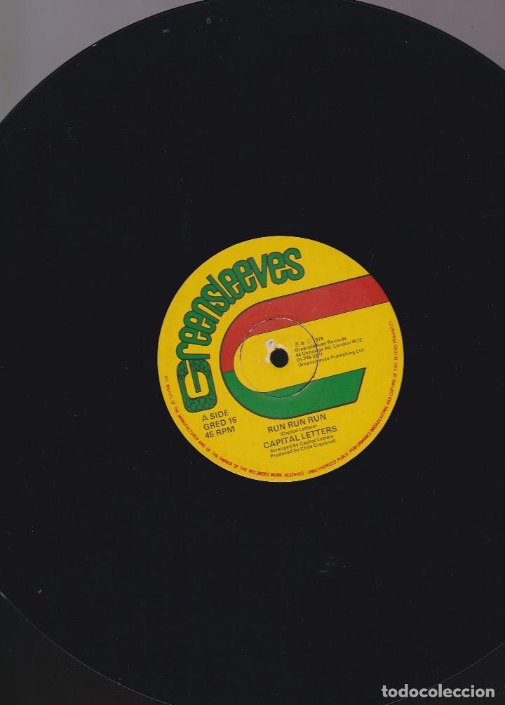 Discos de vinilo: maxi single greensleeves. edición inglesa 1979. probado y en buen estado - Foto 5 - 85761648