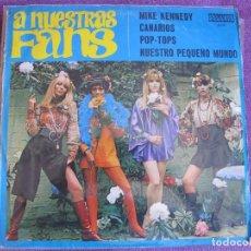 Discos de vinilo: LP - A NUESTROS FANS - VARIOS (SPAIN, DISCOS ORLADOR 1969). Lote 85764796