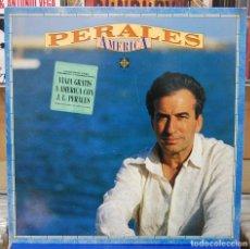 Discos de vinilo: PERALES. AMERICA. CBS / SONY 1991. Lote 85765328