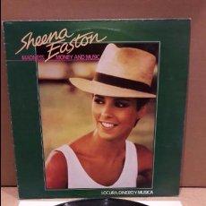 Discos de vinilo: SHEENA EASTON. MADNESS MONEY AND MUSIC. LP / EMI - 1982 / MBC. ***/***. Lote 85769036