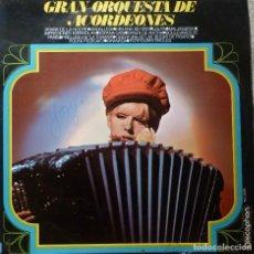 Discos de vinilo: GRAN ORQUESTA DE ACORDEONES. Lote 190152856