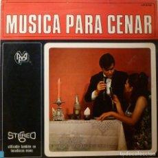Disques de vinyle: JOHNNY HAWKSWORTH - MUSICA PARA CENAR. Lote 85776496