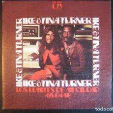 Discos de vinilo: IKE AND TINA TURNER SG UA HISPAVOX 1974 LOS LIMITES DE MI CIUDAD (NUTBUSH CITY LIMITS) +1 FUNK SOUL . Lote 165706133