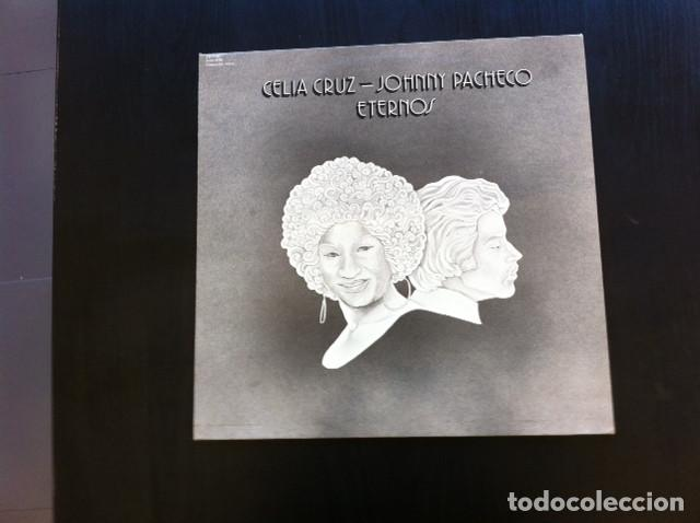 LP CELIA CRUZ JOHNNY PACHECO ETERNOS CUBA SON CUBANO SALSA LATIN JAZZ (Música - Discos - LP Vinilo - Grupos y Solistas de latinoamérica)