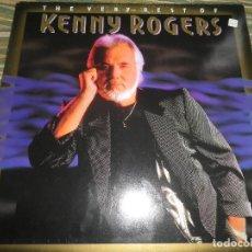 Discos de vinilo: KENNY ROGERS - THE VERY BEST OF LP - ORIGINAL ALEMAN - REPRISE RECORDS 1990 - . Lote 85823572